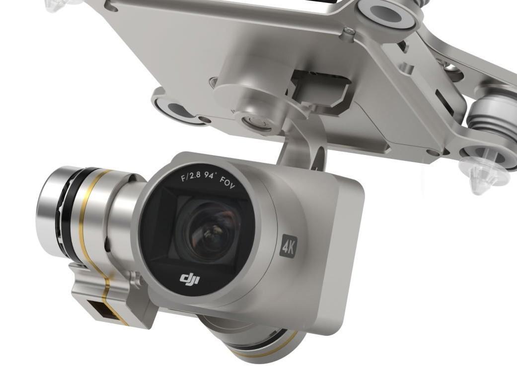 camara drone phanom 3