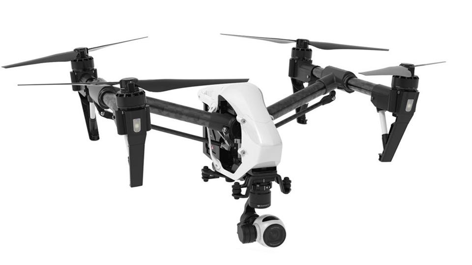 drones inspirex3 para la grabacion aerea