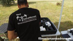 Grabaciones aereas con drones Aerofilms